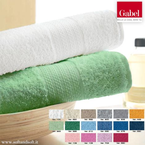 STAR Plain-coloured 1+1 Towel Set by GABEL