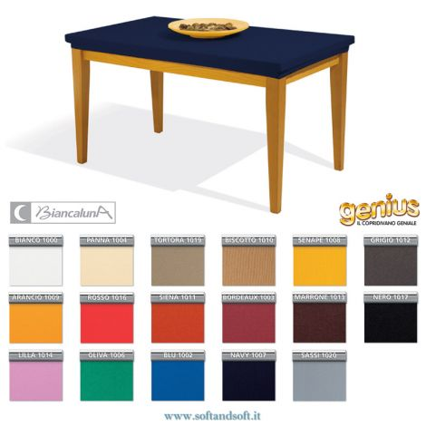 Genius 4D Rectangular Table cover stretched 6 - Table cover