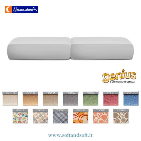 Genius 4D Stretch Cushion Cover Set  Vision Biancaluna