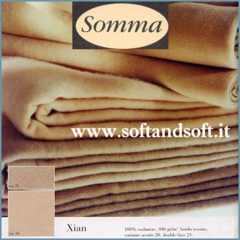 coperta lana in cachemire matrimoniale Somma