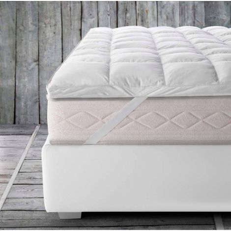 TOP MATTRESS sopra materasso MATRIMONIALE Comfort 5 STELLE cm180x200 Rollofill