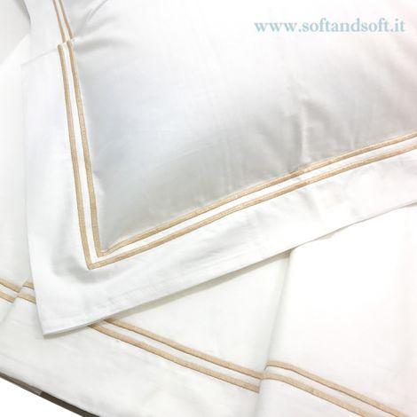 RANDOM Sheet Set for single Bed Percalle white