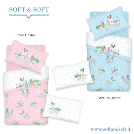 Biancheria Da Letto Trudi.Lenzuola Trudi Lettino Con Le Sponde Softandsoft It Soft Soft