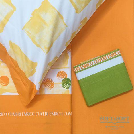 ORCHIDEA 9 Completo lenzuola per letto matrimoniale - Enrico Coveri