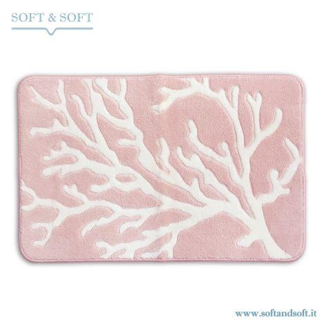 CORAL Bath Mat Anti-slip cm 50×80