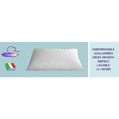 Guanciale Cuscino da letto cm 50x80 imbottitura indeformabile