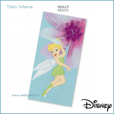 Fairies Trilli Beach Towel cm 75x150 Disney