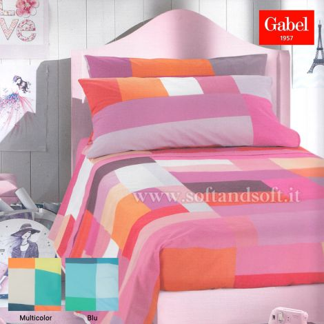 POLICROMIA Bedcover Sheet Set for three-quarter bed by GABEL