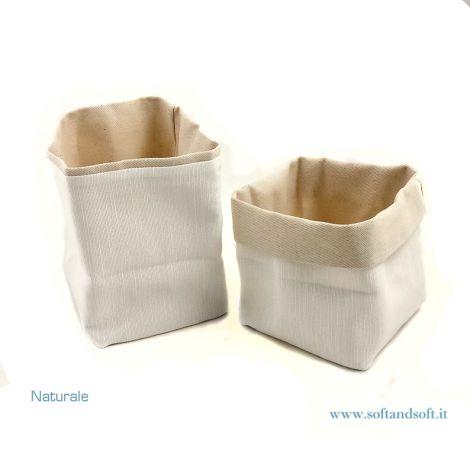 Bread basket pure cotton Natural