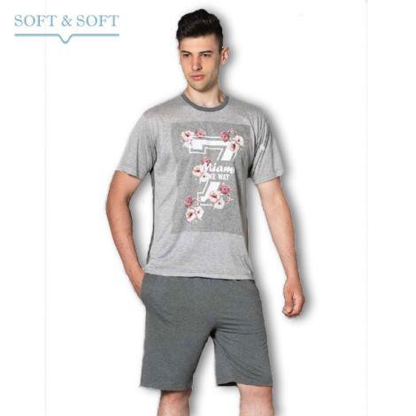 ONEWAY 800W Man Pajama T-shirt  and shorts