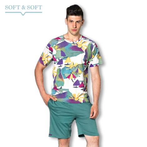 ONEWAY 803W Man Pajama T-shirt  and shorts