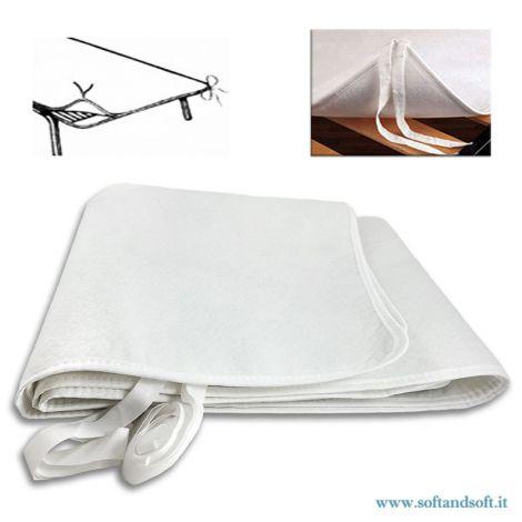 coprirete salvamaterasso feltro letto singolo una piazza