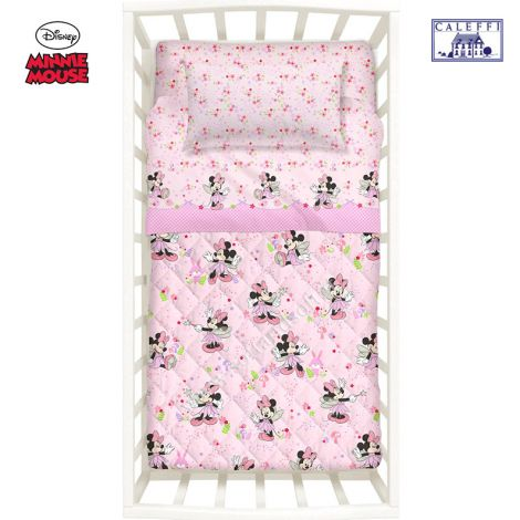 BABY MINNIE FAIRY Quilt for cots Disney by CALEFFI
