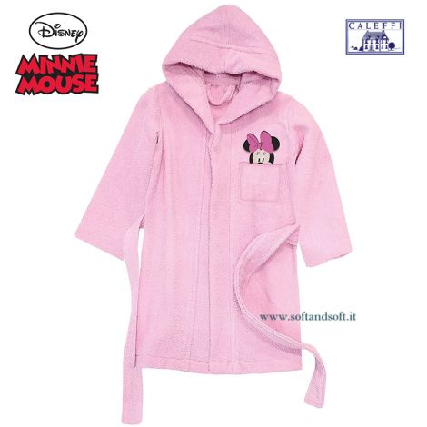 MINNIE FANTASY Baby Bathrobe Disney CALEFFI