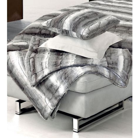 OLIMPIA Plaid faux fur filled by GF Ferrari cm 150x200