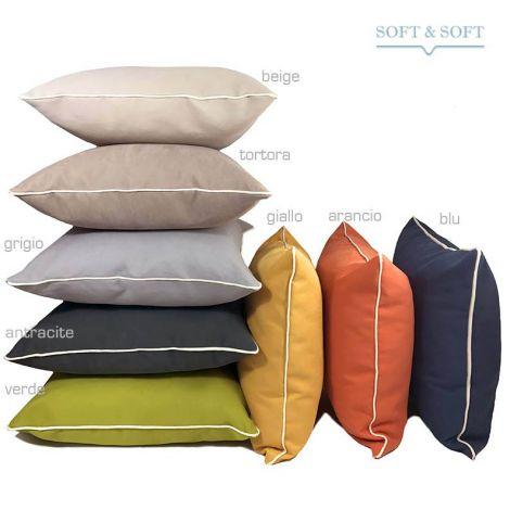 NEWPORT FODERA idrorepellente per cuscino per esterno-interno cm45x45