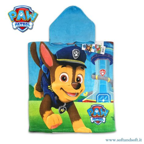 PAW PATROL Baby Bathrobe/Hooded Poncho