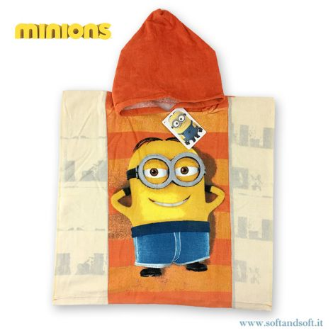 MINIONS RELAX Baby Accappatoio/Poncho