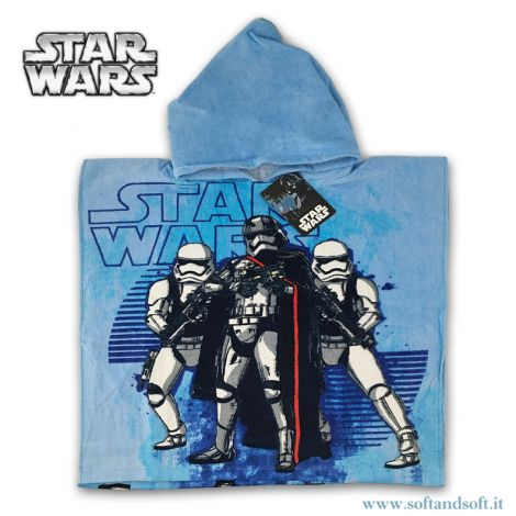 STAR WARS Baby Bathrobe/Hooded Poncho