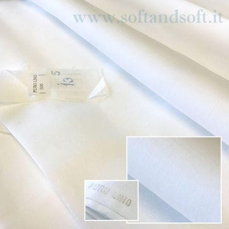 PURE LINEN  fabric fabric high 70 cm Made in Italy