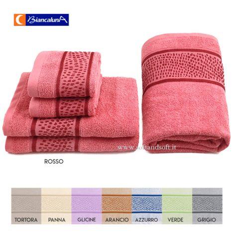 DERN Set Jacquarde 2 Hand Towel + 2 Guest Towel + 1 Bath Towel