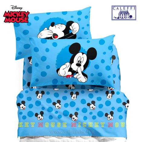 Lenzuola 1 Piazza E Mezza Disney.Online Sale Mickey Mouse Sheet Set For Three Quarter Beds Disney