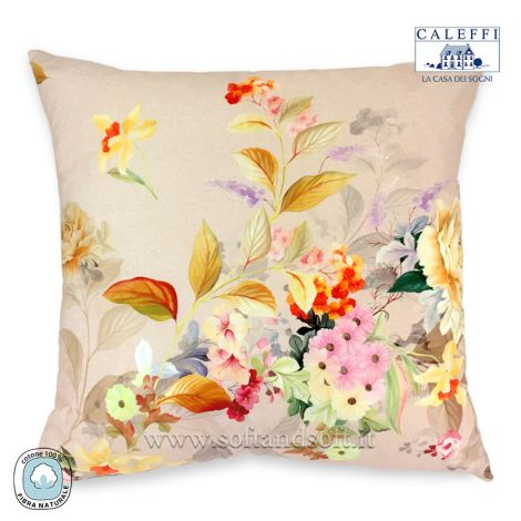 FRAGRANCES Cushion cm 60x60 Digital Print by CALEFFI