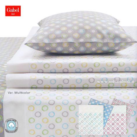 COLORFUL Sheet Set for King Size Bed GABEL