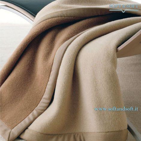 Coperta Lana Somma in lana di Cammello di alta qualità Made in Italy
