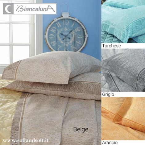 BOA Fabric sheet set for single bed BIANCALUNA