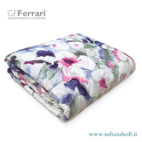 PRIMAVERA 6H Geometric Quilted Bedcover for Three Quarter Bed by GFFerrari 742570