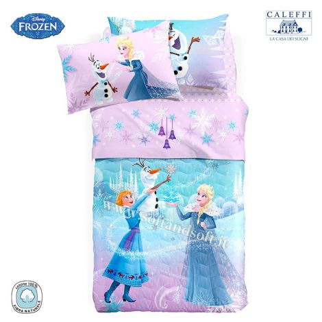 FIOCCO DI NEVE Summer Quilted Bedcover Single Bed Disney CALEFFI