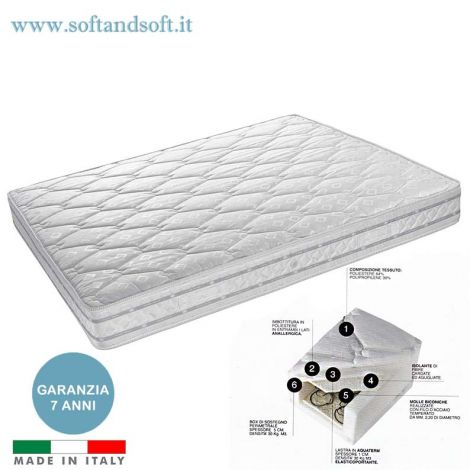 Europe Spring mattress non-deformable hypoallergenic medium rigidity