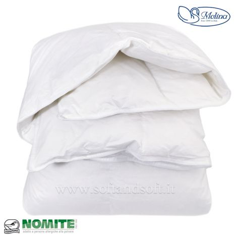 MONVISO Duvet for single bed 100% Down 155x200 MOLINA
