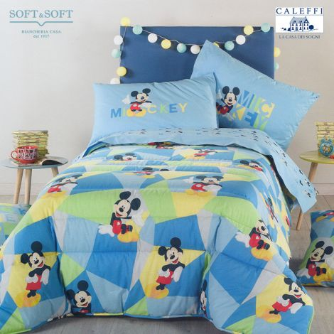 MICKEY BOYS Quilt for Single Bed Disney CALEFFI