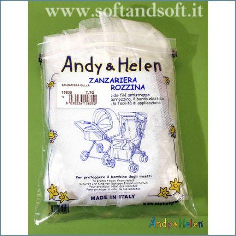 Zanzariera per Culla Neonato Carrozzina  Andy & Elen