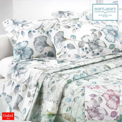 INFINITY sheet set DOUBLE bed size cotton percale GABEL