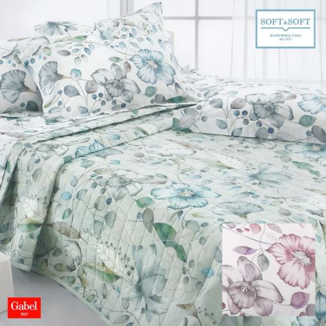 INFINITY quilted bedcover for DOUBLE BED cotton GABEL