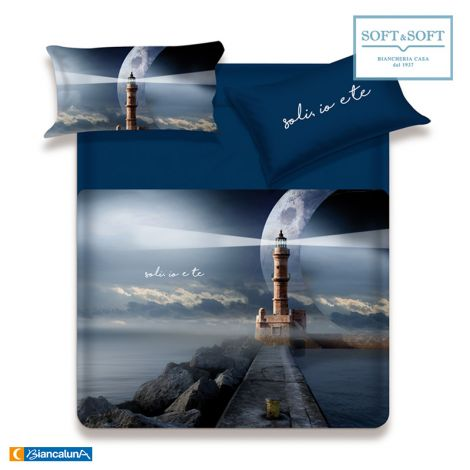 MISS TERRY IO E TE Duvet Cover Parure for Double Bed by BIANCALUNA