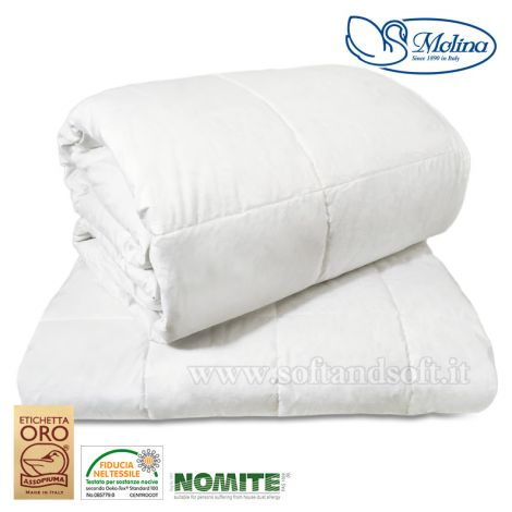 ISLANDA FOUR SEASONS Duvet DOUBLE BED 100% White Down by MOLINA