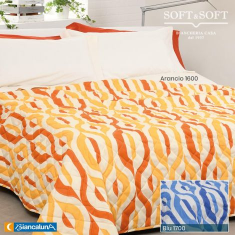 JODI Spring/Summer Quilted Bedcover for Single Bed by BIANCALUNA