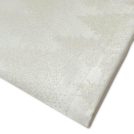 LAPLAND lamé jacquard tablecloth 180 × 320 for 12-Cream