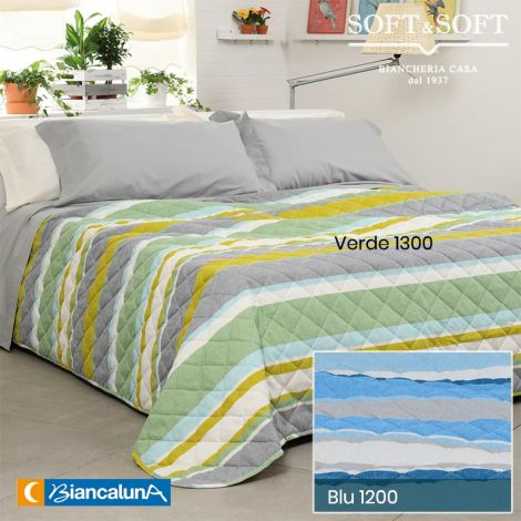 LEVIN Spring/Summer Quilted Bedcover for SINGLE Bed by BIANCALUNA