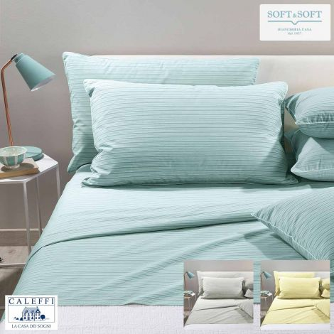 LOGAN Sheet Set THREE-QUARTER Bed Size CALEFFI