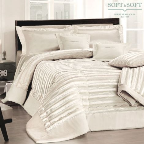 LUSSO eco-fur quilt for double bed by GFFerrari
