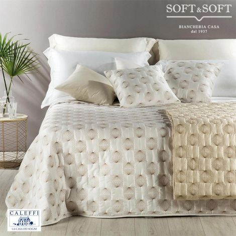 LUXORY Quilted Bedcover DOUBLE Bed Size Cotton Satin