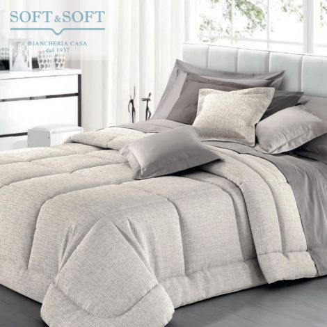 MARINA quilt for double bed jacquard fabric 270x270 GFFerrari