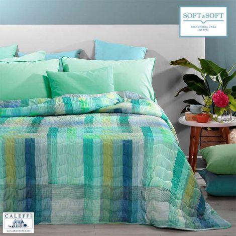 MARLIN Quilted Bedcover for SINGLE bed 170x270 by CALEFFI