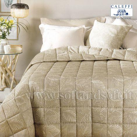 MILLE FOGLIE Ultra Light Quilt DOUBLE Bed Natural Fibre CALEFFI