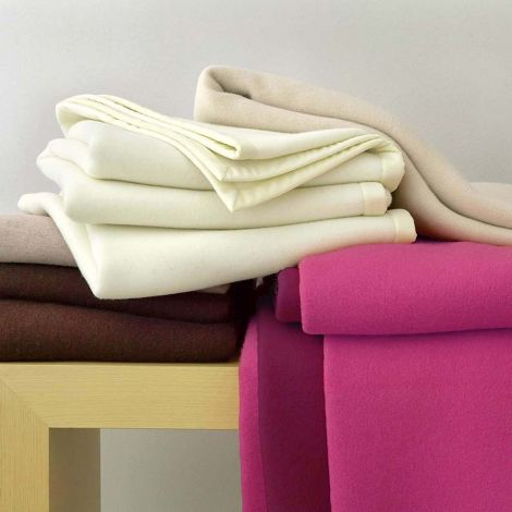 Coperta lana Somma colorata letto piazza e mezza